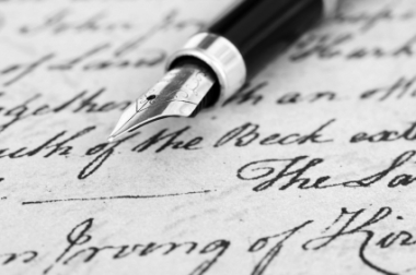 old_pen_and_writing