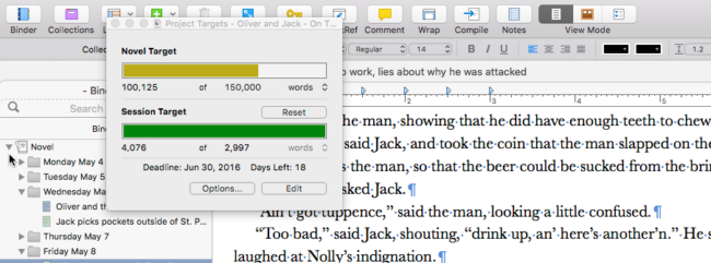 Hit 100,000 Word Today on Book Five