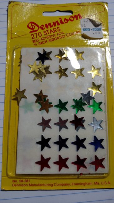 Gold Stars and Book Covers